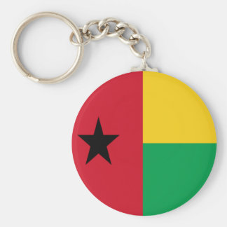 Flag of Guinea-Bissau Keychains