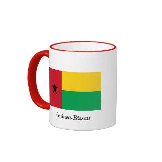 Flag of Guinea-Bissau Ringer Mug