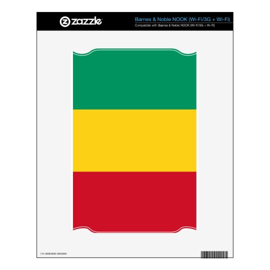 Flag of Guinea Decal For NOOK