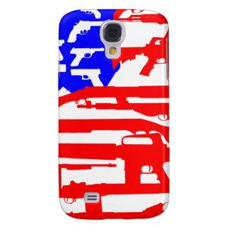 Flag Of Guns 2nd Amendment Samsung Galaxy S4 Cover