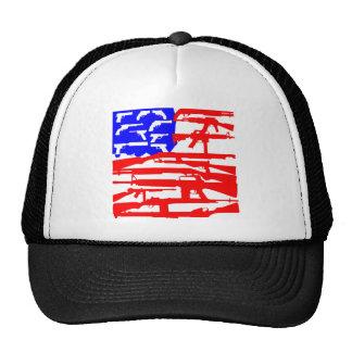 Flag Of Guns 2nd Amendment Trucker Hat