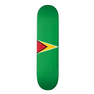 Flag of Guyana Skateboard Deck