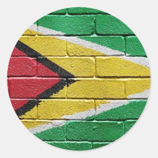 Flag of Guyana Stickers
