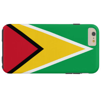 Flag of Guyana Tough iPhone 6 Plus Case
