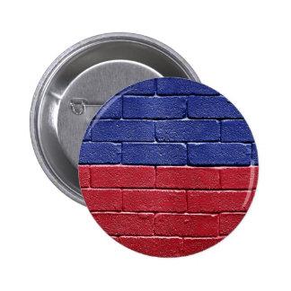 Flag of Haiti 2 Inch Round Button