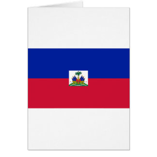 Flag of Haiti Card