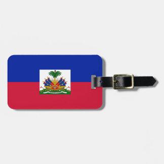 Flag of Haiti Bag Tag