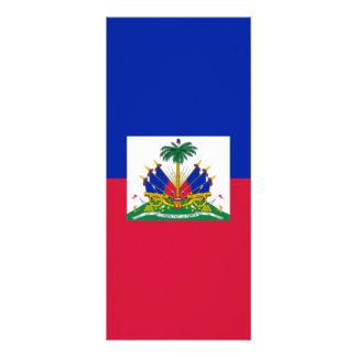 Flag of Haiti Personalized Rack Card