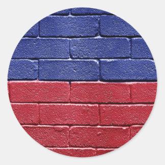 Flag of Haiti Sticker