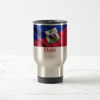 FLAG OF HAITI TRAVEL MUG
