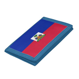 Flag of Haiti Trifold Wallet