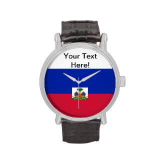 Flag of Haiti Wristwatches