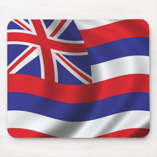 Flag of Hawaii Mouse Pad