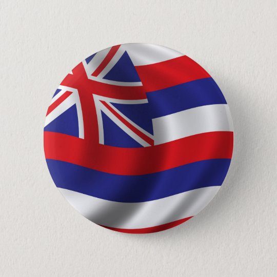 Flag of Hawaii Pinback Button
