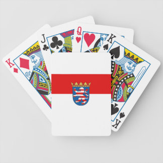 Flag_of_Hesse Bicycle Playing Cards