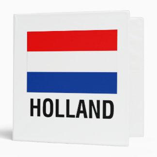 FLAG OF HOLLAND BINDER