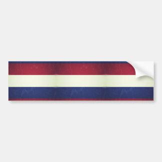 Flag of Holland Bumper Sticker