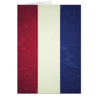 Flag of Holland Card