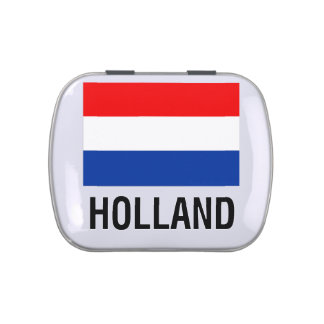 FLAG OF HOLLAND JELLY BELLY TIN