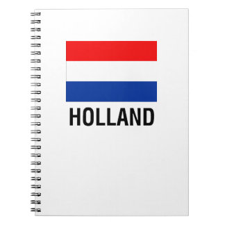 FLAG OF HOLLAND NOTEBOOK