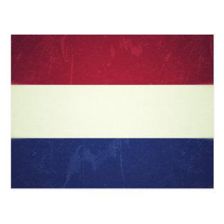 Flag of Holland Postcard