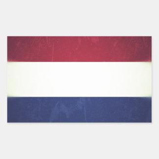 Flag of Holland Rectangular Sticker