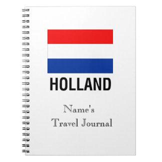 FLAG OF HOLLAND SPIRAL NOTEBOOK