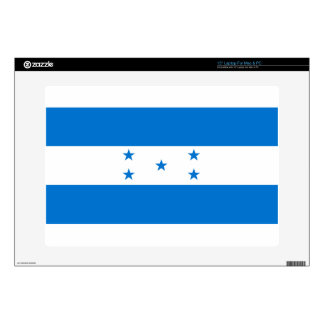 "Flag_of_Honduras 15"" Laptop Decal"