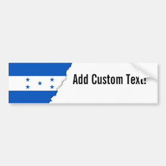Flag of Honduras Bumper Sticker