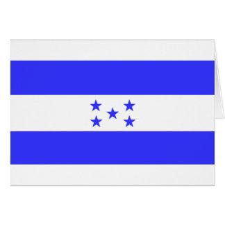 Flag of Honduras Card