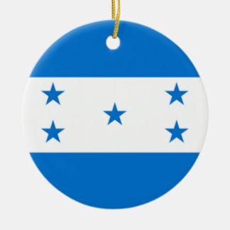 Flag of Honduras Ceramic Ornament