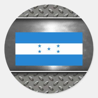 Flag of Honduras Classic Round Sticker