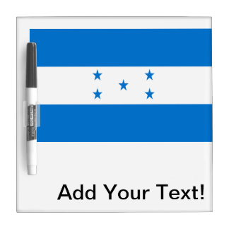 Flag of Honduras Dry Erase Board