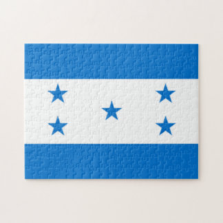 Flag of Honduras Jigsaw Puzzles