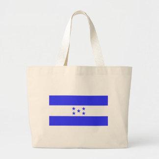 Flag of Honduras Large Tote Bag