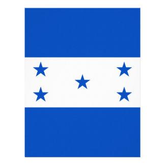 Flag of Honduras Letterhead