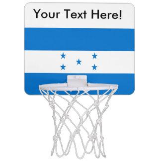 Flag of Honduras Mini Basketball Backboard