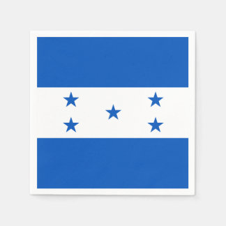 Flag of Honduras Paper Napkin