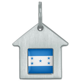 Flag of Honduras Pet Name Tag