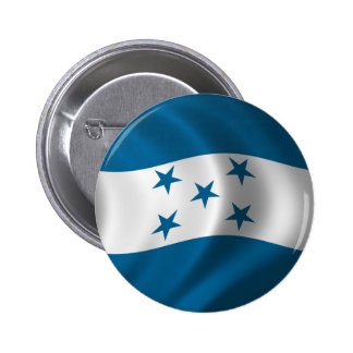 Flag of Honduras Pinback Button