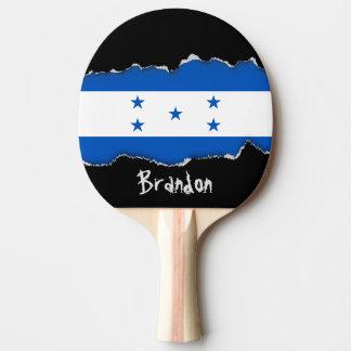 Flag of Honduras Ping-Pong Paddle