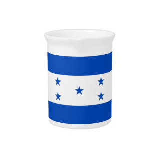 Flag of Honduras Pitcher