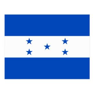 Flag of Honduras Postcard