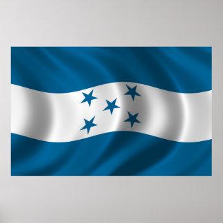 Flag of Honduras Poster
