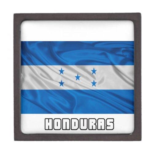 Flag of Honduras Premium Jewelry Box