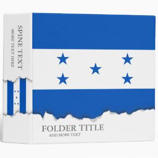 Flag of Honduras Vinyl Binder