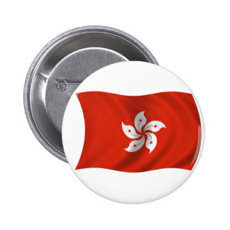 Flag of Hong Kong Button