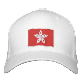 Flag of Hong Kong Embroidered Baseball Hat