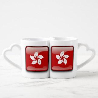 Flag of Hong Kong Couples' Coffee Mug Set