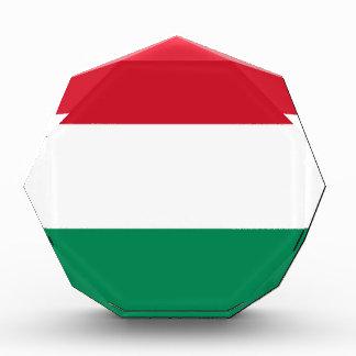 Flag of Hungary Acrylic Award